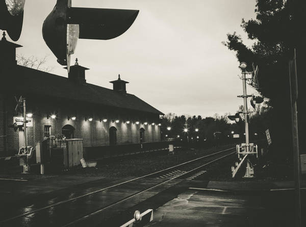Photograph - Gritty Railroad Crossing by Kyle Lee