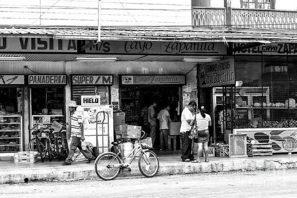 Photograph - Grocery Shopping In Bocas Toro by John Rizzuto