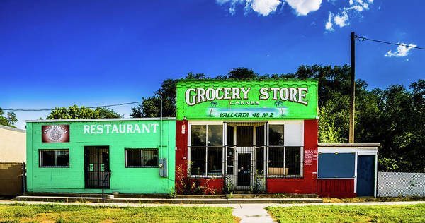 Photograph - Grocery Store - Goshen Utah by TL Mair