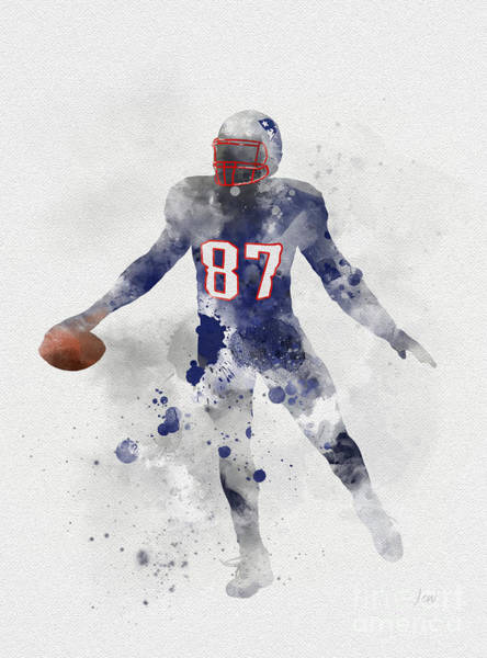 Wall Art - Mixed Media - Gronk by My Inspiration