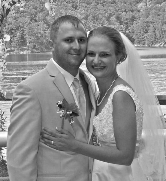 Photograph - Groom And His Bride by Jennifer Robin