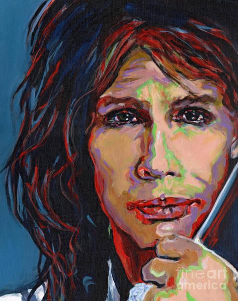 Painting - Steven Tyler by Tanya Filichkin