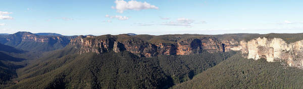 Photograph - Grose Valley Panorama by Nicholas Blackwell