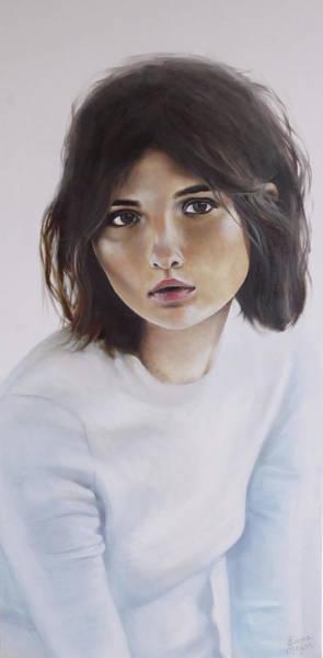 Meijer Painting - Grote Meid by Emma Meijer