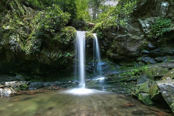 Photograph - Grotto Falls by Carol Montoya