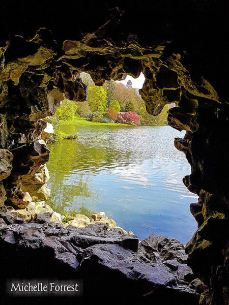 Stourhead Photograph - Grotto by Michelle Forrest