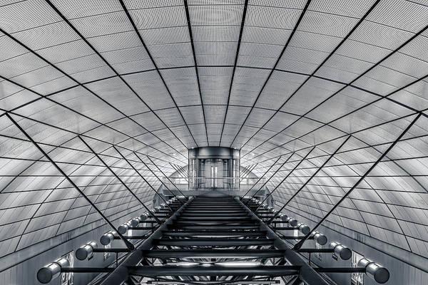 Symmetry Wall Art - Photograph - Ground Control by Oscar Lopez