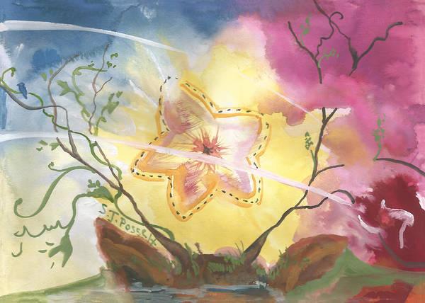 Painting - Grounded Star Shine by Sheri Jo Posselt