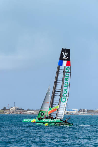 Ac45 Photograph - Groupama  by Chris Beard