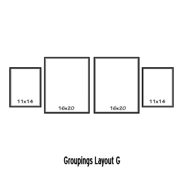 Wall Art - Digital Art - Groupings Layout G by Melissa Smith