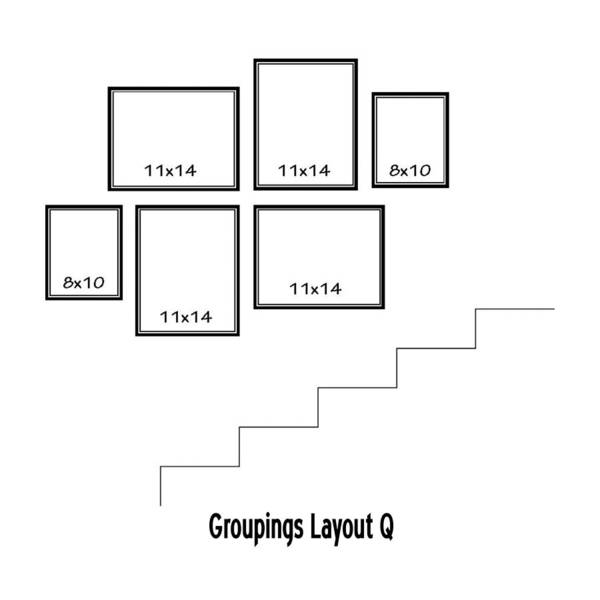 Wall Art - Digital Art - Groupings Layout Q by Melissa Smith