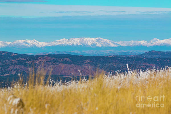 Photograph - Grouse Mountain And Collegiate Peaks by Steve Krull