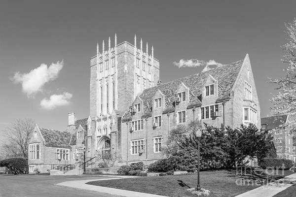 Crawford Photograph - Grove City College Crawford Hall by University Icons