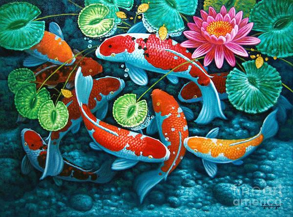 Lucky Charm Painting - Growing Affluence by Melencio Sapnu