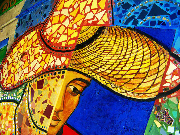 Growing Edgewater Mosaic Art Print