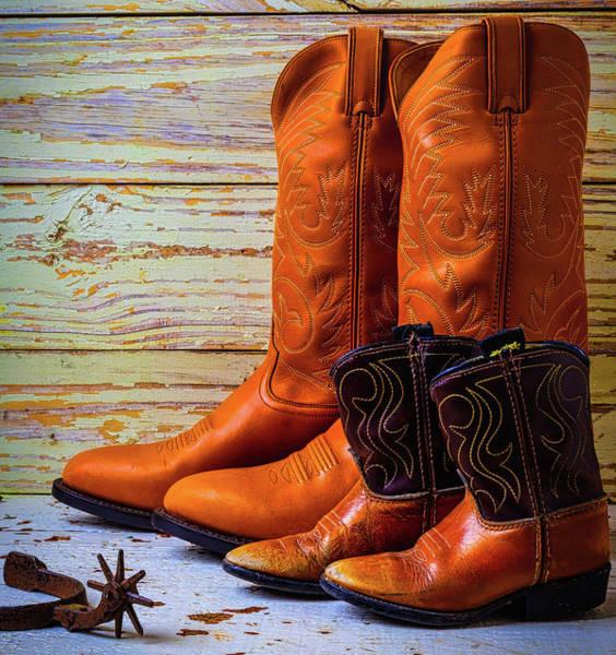 Wall Art - Photograph - Grown Up Boots by Garry Gay