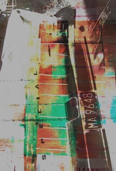 Fashion Plate Painting - Grunge by David Studwell