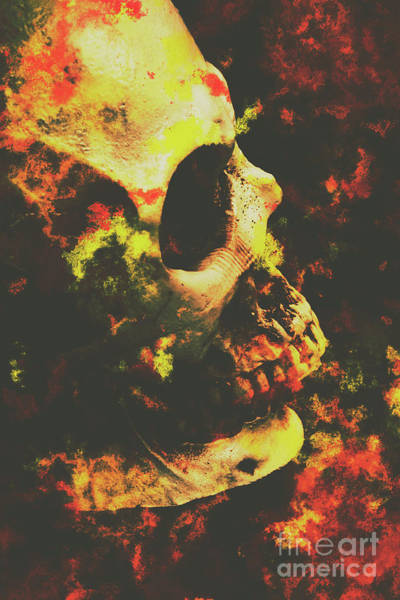 Human Head Photograph - Grunge Frightener by Jorgo Photography - Wall Art Gallery