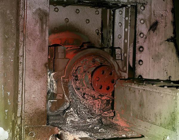 Photograph - Grunge Gear Motor by Robert G Kernodle