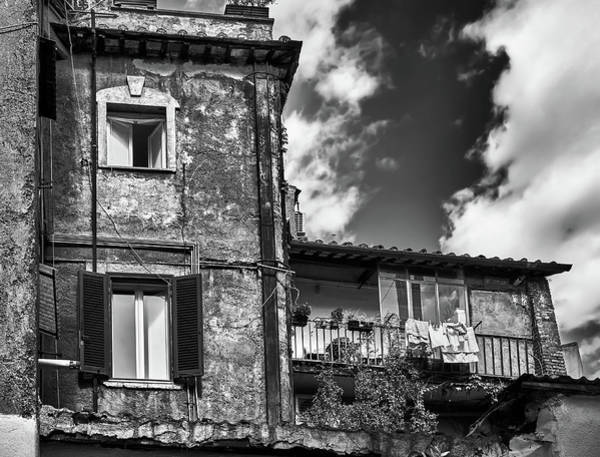 Photograph - Grunge House In Rome by Fine Art Photography Prints By Eduardo Accorinti