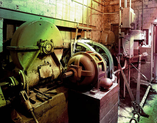Photograph - Grunge Hydroelectric Plant by Robert G Kernodle