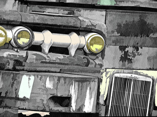 Mixed Media - Grunge Mystique Toned by Lynda Lehmann