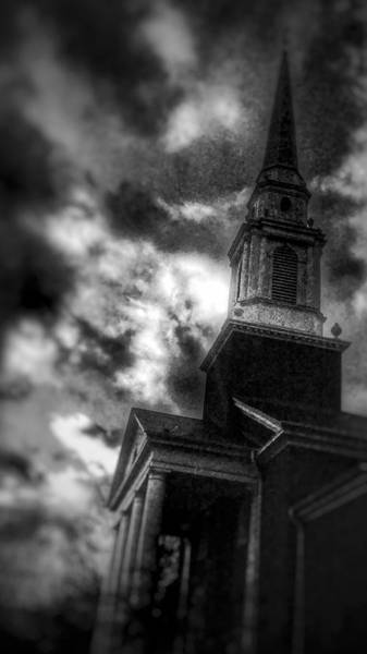 Cathedral Of Christ The Savior Photograph - Grunge Steeple by Jeff Paul