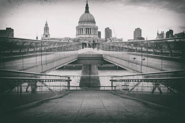 St Martin Photograph - Grungey St Pauls by Martin Newman