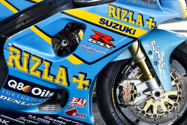Photograph - Gsxr Racing  by Tim Gainey