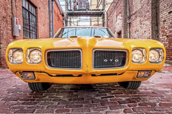 Photograph - Gto - Pontiac Muscle by Adam Reinhart