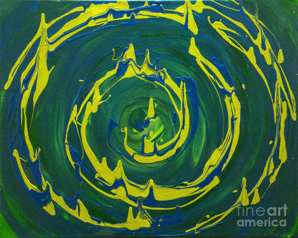 Guacamole Swirl Art Print