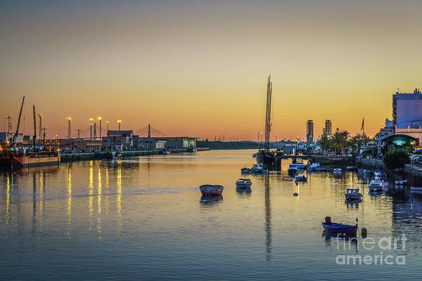 Photograph - Guadalete River Puerto De Santa Maria Cadiz Spain by Pablo Avanzini