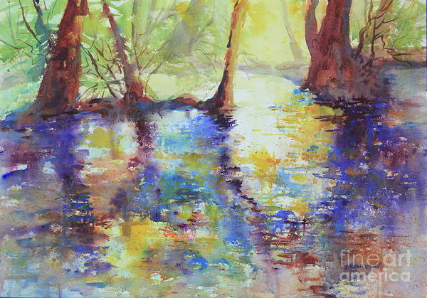 Central Texas Painting - Guadalupe Afternoon by Marsha Reeves