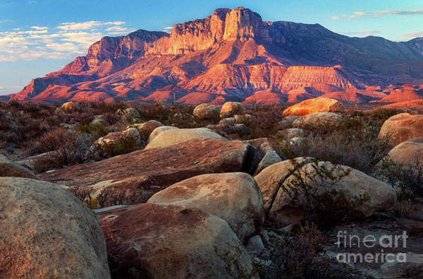 Nps Photograph - Guadalupe El Capitan by Inge Johnsson