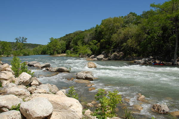 New Braunfels Photograph - Guadalupe River by Bill Hyde