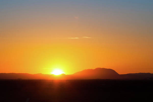 Photograph - Guadalupe Sunrise by SR Green