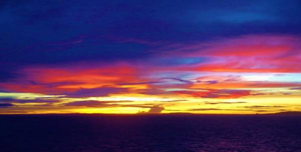 Photograph - Guam Sunrise II 10 2015 by Phyllis Spoor