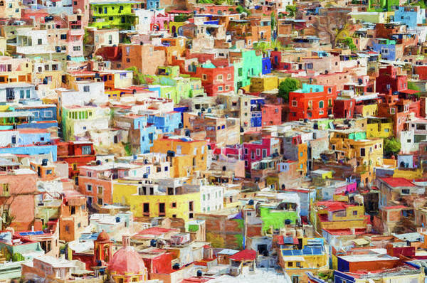 Photograph - Guanajuato 1, Mexico. by Rob Huntley