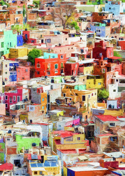 Photograph - Guanajuato 2, Mexico. by Rob Huntley