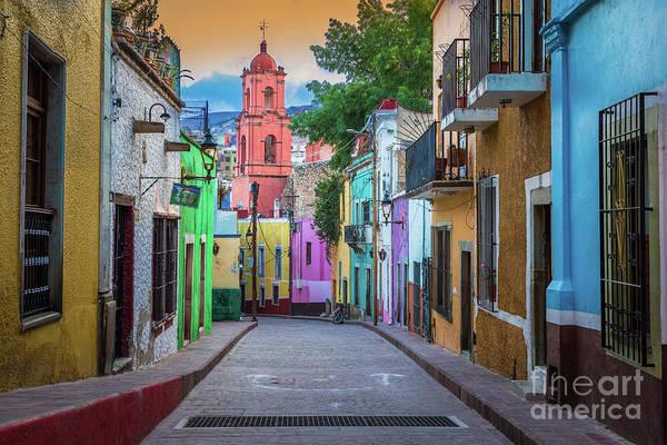 Wall Art - Photograph - Guanajuato Backstreet by Inge Johnsson