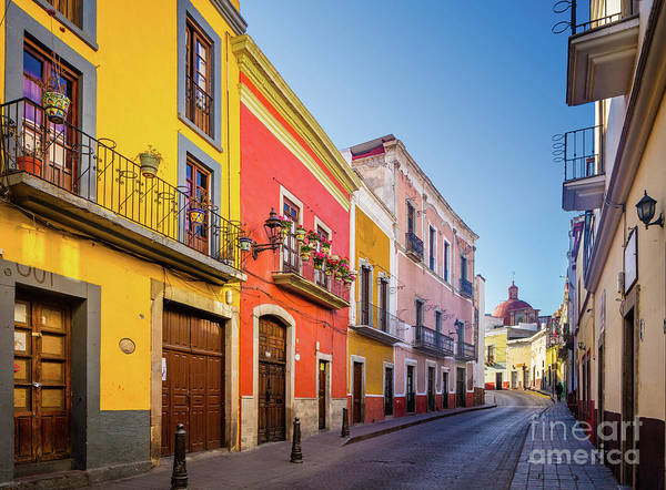 Wall Art - Photograph - Guanajuato Casas by Inge Johnsson