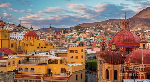 Photograph - Guanajuato City Panorama by Inge Johnsson