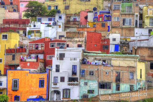 Mexico City Photograph - Guanajuato Jumble by Juli Scalzi