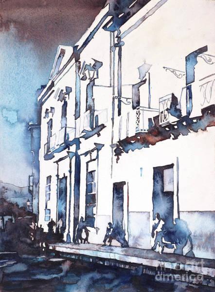 Wall Art - Painting - Guanajuato Street by Ryan Fox