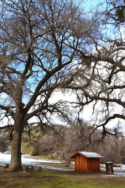 Photograph - Guard Shack At Fort Tejon Lebec California by Floyd Snyder