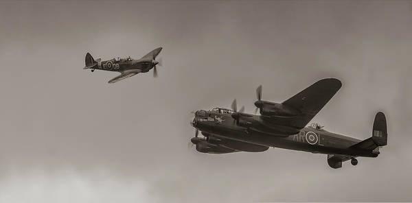 Lancaster Photograph - Guardians by Nigel Jones