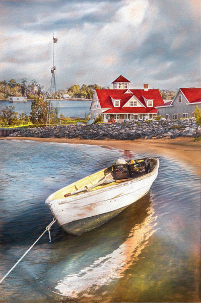 Photograph - Guarding The Coast Painting by Debra and Dave Vanderlaan