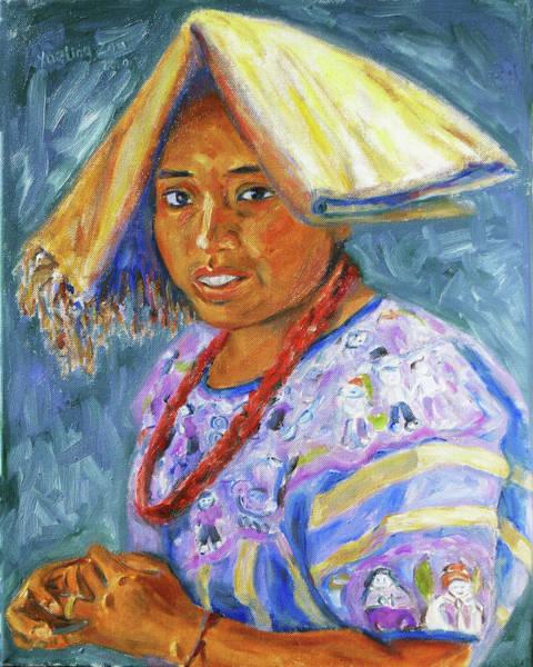 Painting - Guatemala Impression II by Xueling Zou