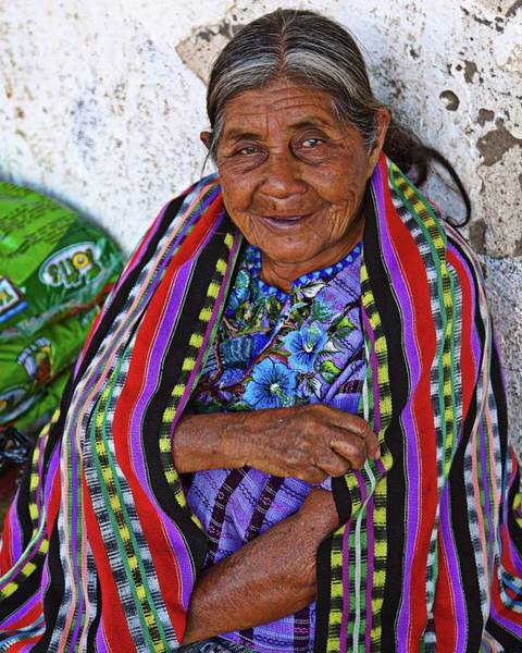 Photograph - Guatemalan Woman by Tatiana Travelways