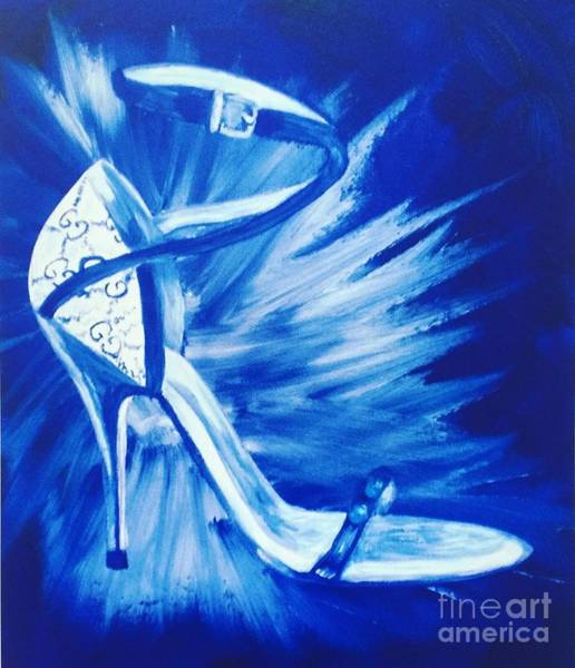 Painting - Gucci Heel  by Holly Picano
